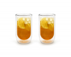 Doppelwandiges Glas 400ml 2er-Set