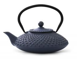 Teekanne Xilin Gusseisen 1,25L blau