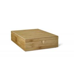Teebeutelbox 9 Fächer Bambus