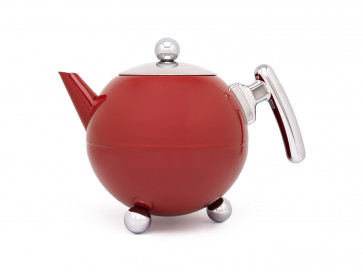 Teekanne Duet® Bella Ronde 1,2L rot