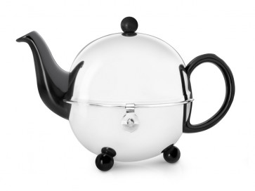Teekanne Cosy® 0,9L schwarz Steingut