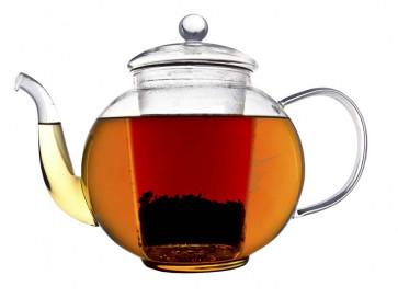Teekanne Verona einwandiges Glas 1,5L