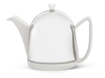Teekanne Cosy® Manto 1,0L weiβ Steingut