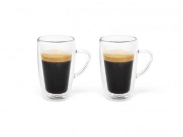 Doppelwandiges Espressoglas 100ml 2er-Set