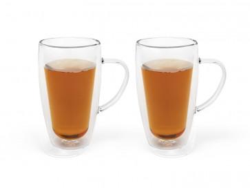 Doppelwandiges Tee&Kaffeeglas 295ml 2erSet