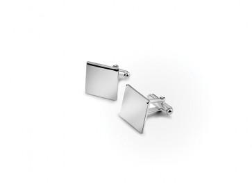 Manschettenknöpfe quadratisch 925er Silber
