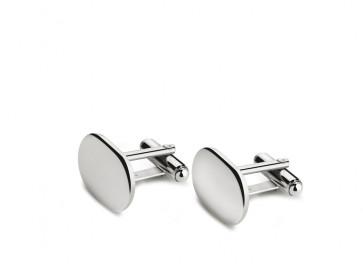 Manschettenknöpfe oval 925er Silber