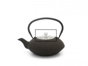 Deckel Yantai 157001 schwarzbraun-weiß