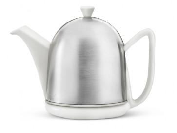 Teekanne Manto 1,0L, weiβ, matt