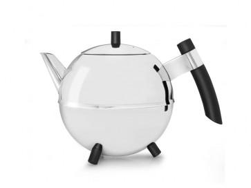 Teekanne Duet Design Meteor 1,2L schwarz