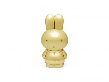 Spardose Miffy goldfarben anlaufgeschützt