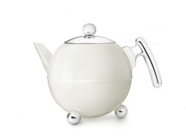 Teekanne Duet® Bella Ronde 1,2L cremeweiβ