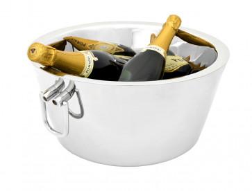 Sektkühler/Champagnerkühler-Schale doppelwandig