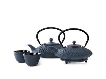 Teekanne Xilin 0,8L, blau