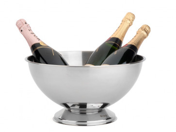 Champagnerschale Classic II Edelstahl Ø35x19cm