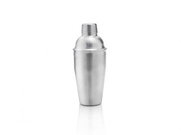Goblet-Shaker 500ml 3tlg Edelstahl matt