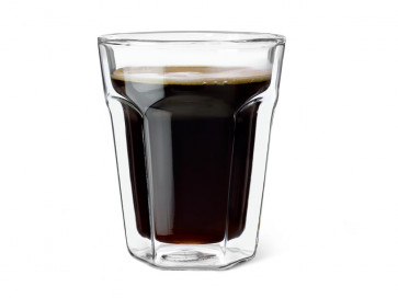 Glas doppelwandige 220ml 2er-Set