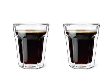 Doppelwandiges Glas 220ml 2er-Set