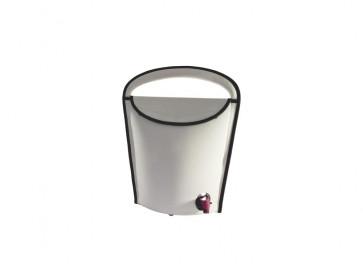 Tragbarer Weinkühler Weinschlauch 3L beige