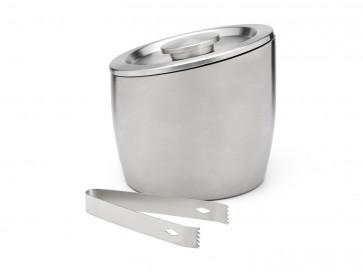 Eisbehälter 2,5L doppelwandig Edelstahl