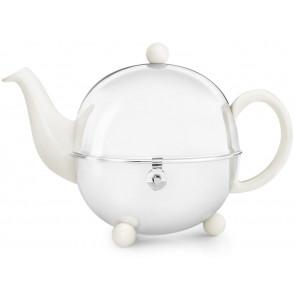 Teekanne Cosy 1,3L, crèmeweiβ