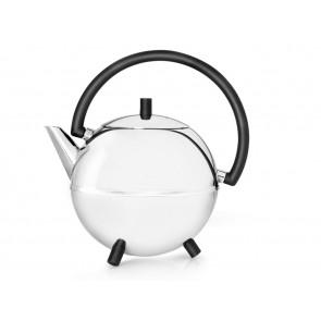 Teekanne Duet Design Saturn 1,2L schwarz