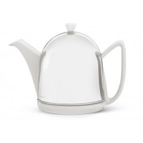 Teekanne Cosy Manto 1,0L weiβ Steingut