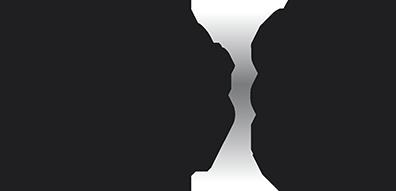 Oblique 5er-Teelichthalter Harz-Sandstein schwarz