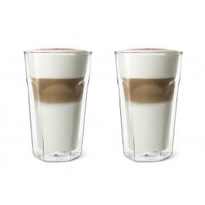 Doppelwandiges Glas Latte Macchiato, 2er Set
