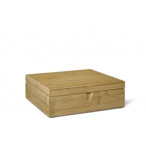 Teebeutelbox 6 Fächer Bambus