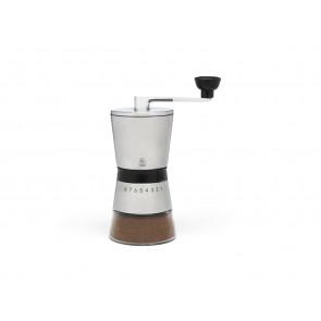 Kaffeemühle Bologna Edelstahl Glas